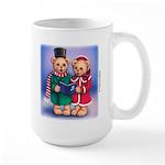 Bear Carolers Large Mug