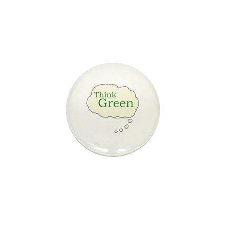 Think Green Mini Button