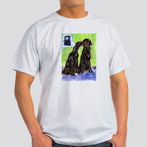 Flattie pals Ash Grey T-Shirt