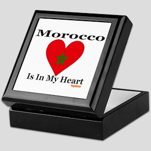 Morocco - Heart Keepsake Box