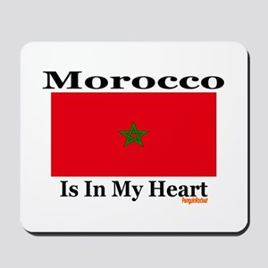 Morocco - Heart Mousepad