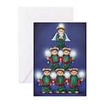 Teddy Tree Greeting Cards (Pk of 10)