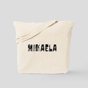 Mikaela Faded (Black) Tote Bag