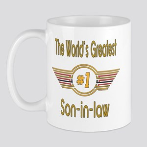 Number 1 Son-in-law Mug