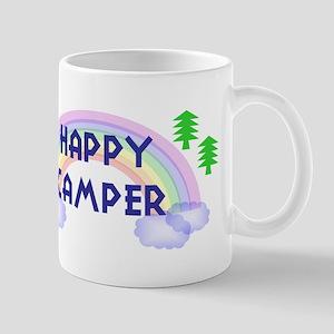 """Happy Camper"" Large Mugs"