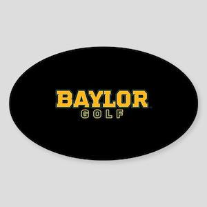 Baylor Golf Logo Sticker (Oval)