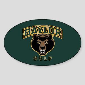 Baylor Bears Golf Sticker (Oval)