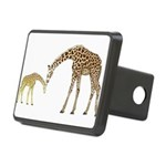 Giraffe Mom and Baby Hitch Cover
