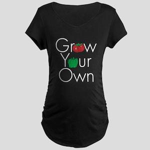 Grow Your Own Maternity Dark T-Shirt