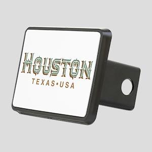 Houston Texas Rectangular Hitch Cover