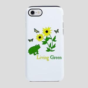 Living Green Frog iPhone 8/7 Tough Case