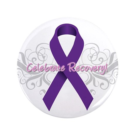 "Celebrate Recovery 3.5"" Button (100 pack)"