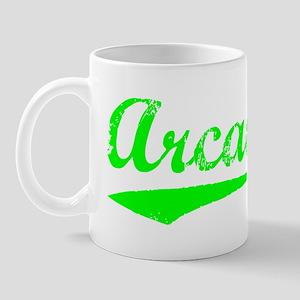 Vintage Arcadia (Green) Mug
