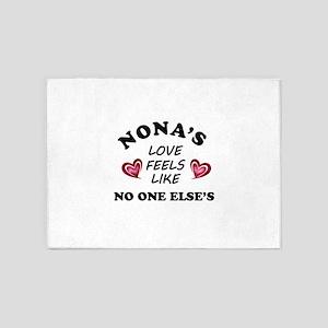 Nona's Love 5'x7'Area Rug