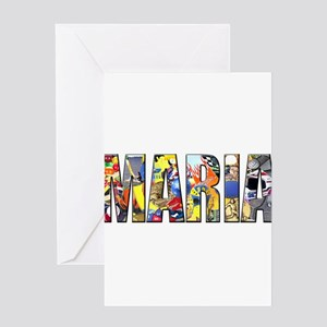 Maria Greeting Cards