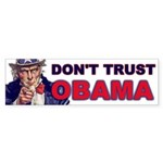 Don't Trust Obama Bumper Sticker (50 pk)