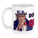 Don't Trust Obama Mug
