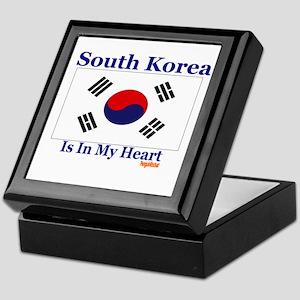 South Korea - Heart Keepsake Box