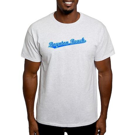 Retro Boynton Beach (Blue) Light T-Shirt