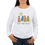 iSurf Jones Beach Women's Long Sleeve T-Shirt