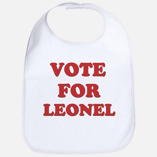 Vote for LEONEL Bib
