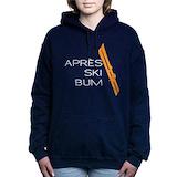 Apres ski bum Hooded Sweatshirt