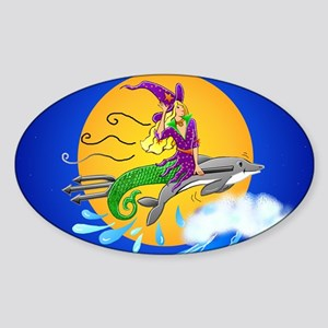 Merwitch Sticker (Oval)