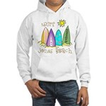 Jones Beach Surfer Hooded Sweatshirt