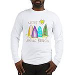 Jones Beach Surfer Long Sleeve T-Shirt