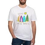 Jones Beach Surfer Fitted T-Shirt