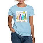 Jones Beach Surfer Women's Light T-Shirt