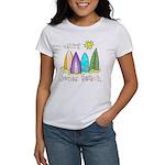 Jones Beach Surfer Women's T-Shirt