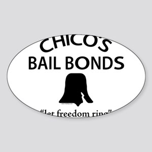Chico's Bail Bonds Rectangle Sticker