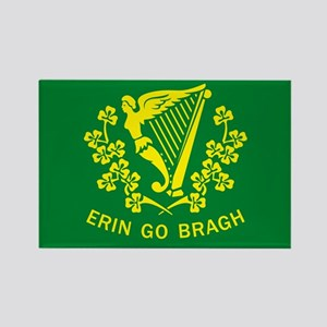Erin Go Bragh Flag Rectangle Magnet