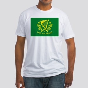 Erin Go Bragh Flag Fitted T-Shirt