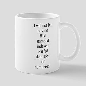 Be Seeing You Large Mugs