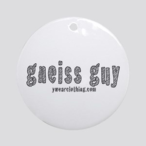 Gneiss Guy Ornament (Round)