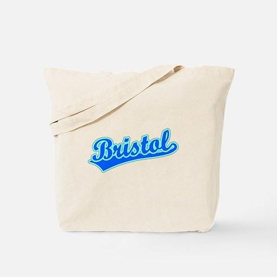 Retro Bristol (Blue) Tote Bag
