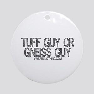 Tuff or Gneiss Ornament (Round)