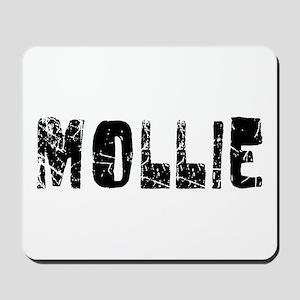Mollie Faded (Black) Mousepad