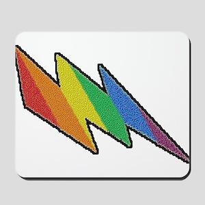 RAINBOW PRIDE ZIGZAG Mousepad