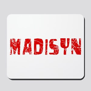 Madisyn Faded (Red) Mousepad