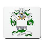 Aponte Family Crest Mousepad