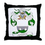 Aponte Family Crest Throw Pillow