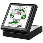 Aponte Family Crest Keepsake Box