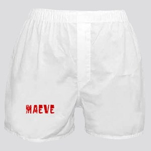 Maeve Faded (Red) Boxer Shorts