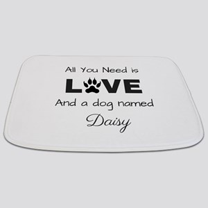 All you need is love and a dog named Daisy Bathmat