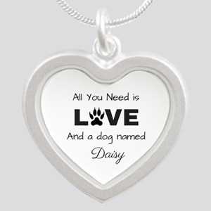 All you need is love and a dog named Daisy Necklac