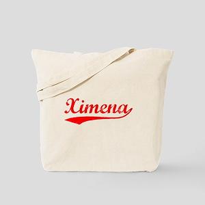 Vintage Ximena (Red) Tote Bag