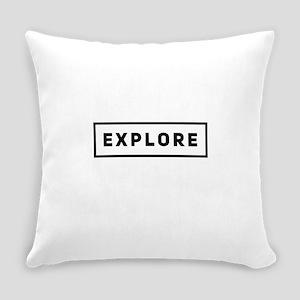 Explore Everyday Pillow